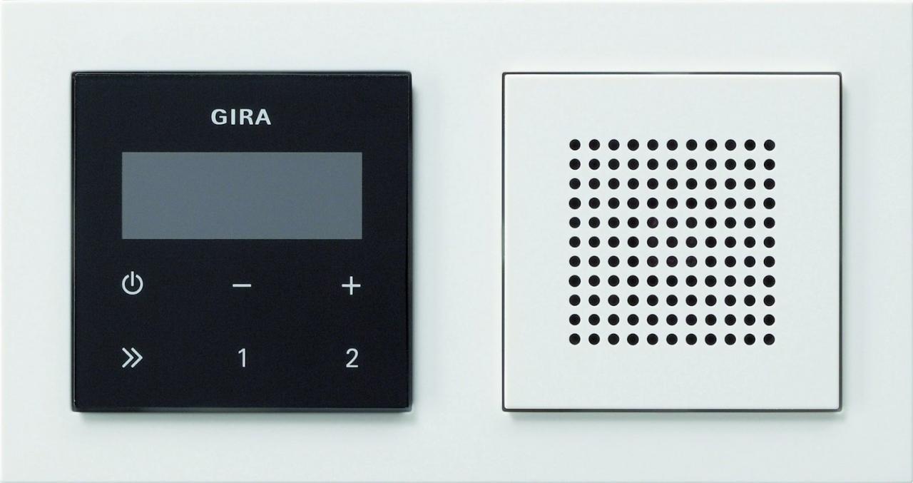 Gira 049572 Unterputz Radio RDS
